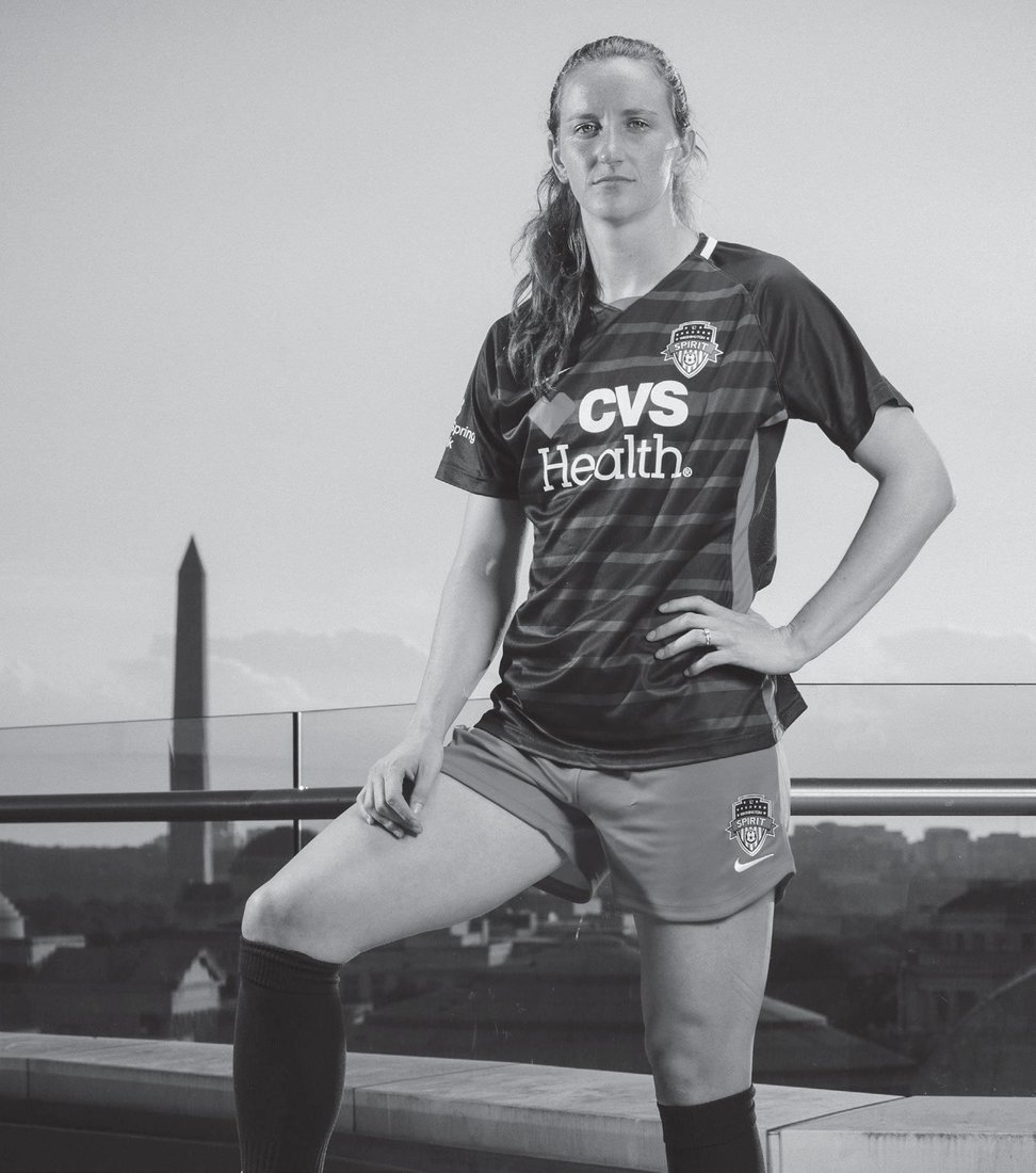 Andi Sullivan PHOTO COURTESY OF THE WASHINGTON SPIRIT